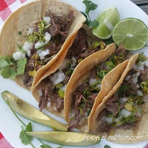 Mexican Barbacoa - Spicy Latina Mom