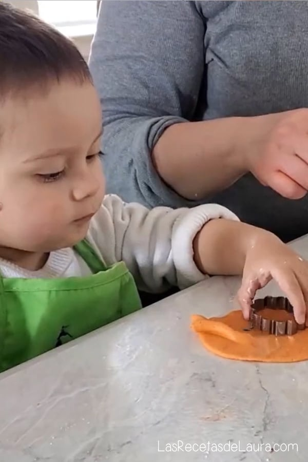 Masa moldeable para niños