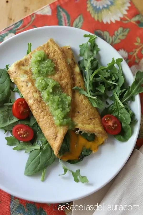 Salsa verde for eggs
