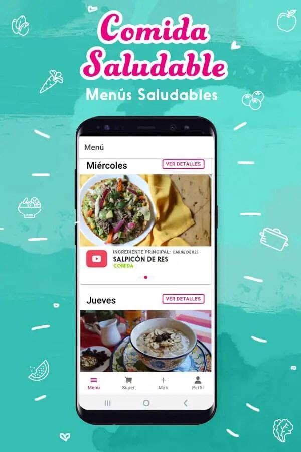 la mejor app de menus diarios
