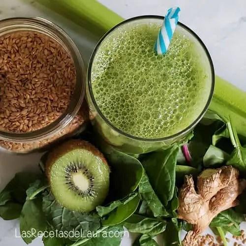 jugo verde para mejorar la digestion