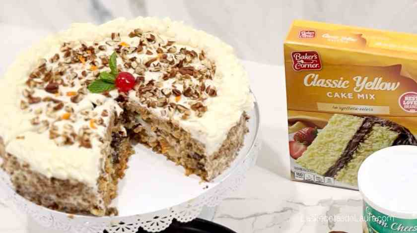 carrot cake mix