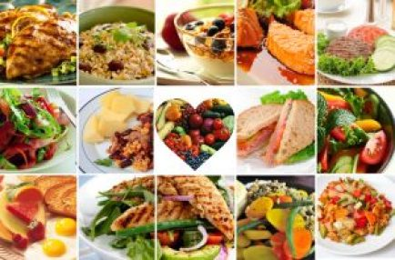 Comer comida saludable