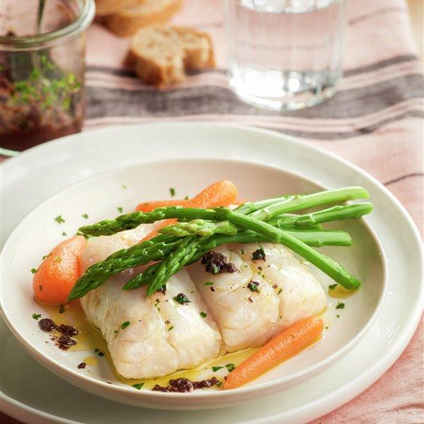 pescado con verduritas