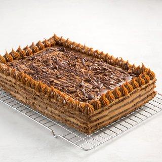 torta de dulce de leche con chocolate