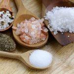 Sal común, sal maria, sal del Himalaya, sal pulverizada y Bark de Sal Maria