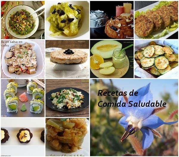 Recetas de Comida Saludable  Las Recetas Fciles de Mara