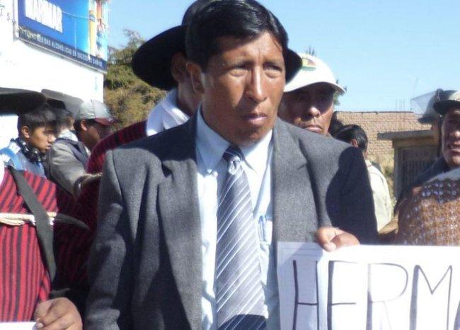 Alfonso Ojeda, alcalde de Cojata. Foto: Correo Puno