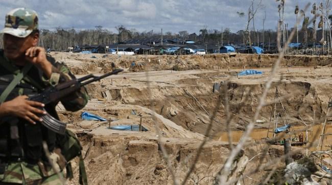 Interdicción contra minería ilegal Madre de Dios [Foto: El Comercio]