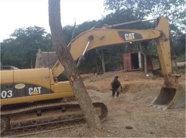 Operativo contra minería ilegal en Bolivia. Foto: AJAM