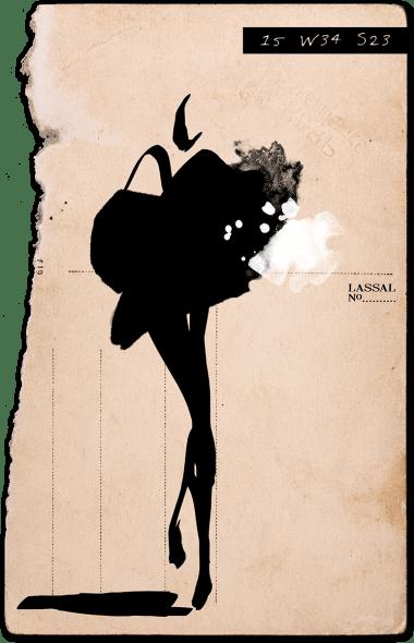 Lassal- Fashion Illustration 15W34S23-12-1200