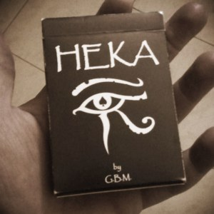 Heka Playing Cards by Gabriel Borden Magic - LASSONELLAMANICA.COM - Mazzi di Carte, Giochi di Prestigio, Libri e Dvd di Magia. Recensioni, unboxing, tutorial!