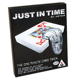Just in time by Astor - LASSONELLAMANICA.COM - Mazzi di Carte, Giochi di Prestigio, Libri e Dvd di Magia. Recensioni, unboxing, tutorial!