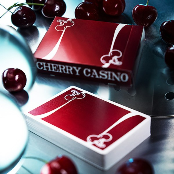Cherry Casino Reno Red Playing Cards - LASSONELLAMANICA.COM - Mazzi di Carte, Giochi di Prestigio, Libri e Dvd di Magia. Recensioni, unboxing, tutorial!
