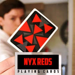 Nyx Reds Playing Cards - LASSONELLAMANICA.COM - Mazzi di Carte, Giochi di Prestigio, Libri e Dvd di Magia. Recensioni, unboxing, tutorial!