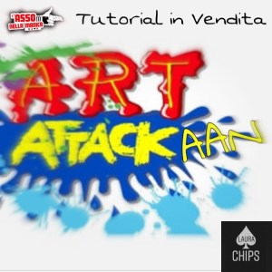 Art Attackaan by Laura Chips - INSTANT DOWNLOAD - Tutorial di magia scaricabile su Lassonellamanica.com, un sito, tutta la magia!