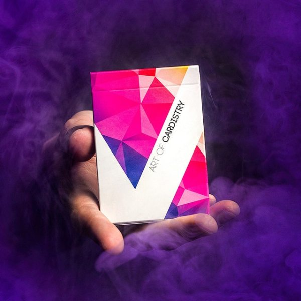 Art of Cardistry Purple - Carte da Cardistry - Lassonellamanica.com, un Sito, Tutta la MAgia! Unboxing, Recensioni e Tutorial!