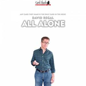 All Alone by David Regal - Mentalismo, Magia e Giochi di Prestigio - Lassonellamanica.com, un Sito, Tutta la Magia! Unboxing, Recensioni e Tutorial!
