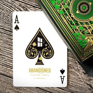 Abandoned Room Playing Cards by Dynamo - Carte Air Cushion Finish - Lassonellamanica.com, un Sito, Tutta la Magia! Giochi di Prestigio.