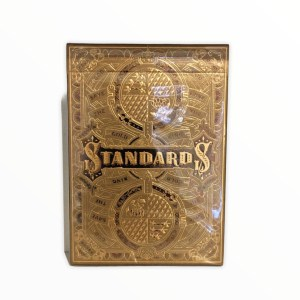 Gold Standards Playing Cards by Art of Play