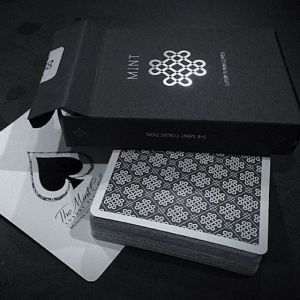 Black Mint Playing Cards