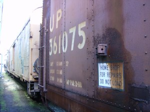 Boxcar UP 361075