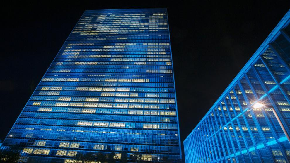 Per I 70 Anni Delle Nazioni Unite Il Palazzo Di Vetro Si