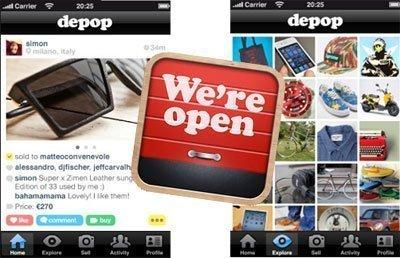 Depop, il mercatino delle pulci on-line
