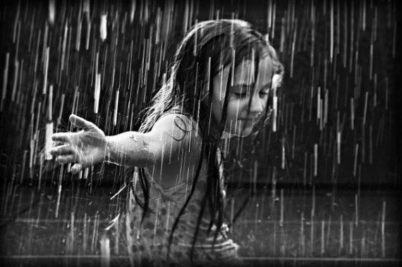 pioggia frasi