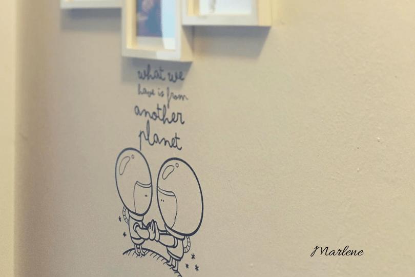 adesivi per parete