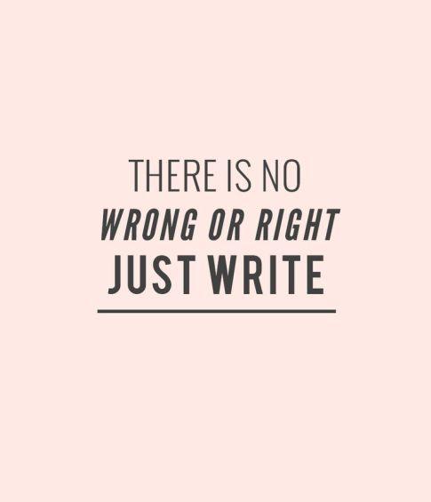 write pink
