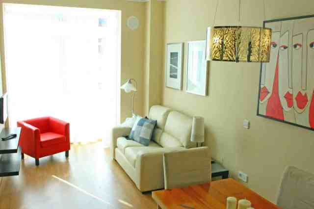 Appartement Malaga woonkamer