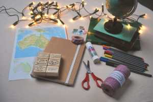 DIY: travelers notebook