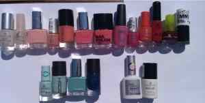 Nailpolish stash