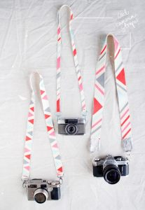 DIY: camera straps