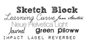 Inspiration: fonts