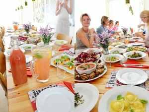 Jamie Magazine Meet & Taste + fresh colored pasta recipe