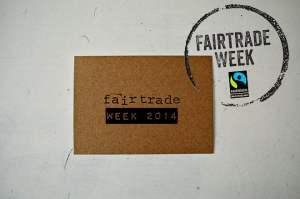 Fairtrade week 2014