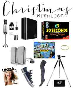 Christmas 2014 Wishlist