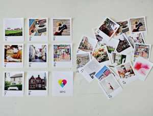 Print Studio instagram calendar