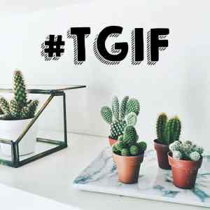 TGIF! Welcome to the weekend #48