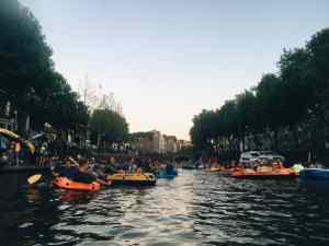 Diary week 31: Nieuw haar, de Parade & Rubberbootmissie