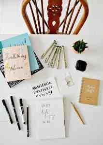 Nieuwe hobby #2: Handletteren en moderne kalligrafie