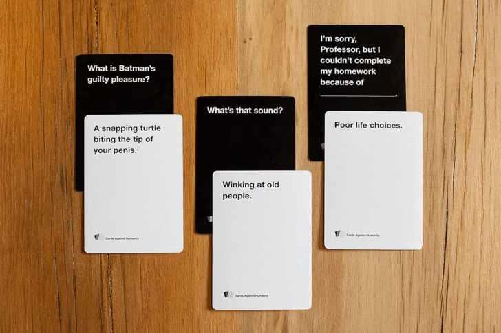 spelletjesavond met vrienden