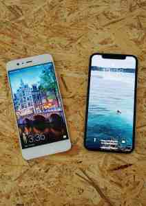 Smartphone test: iPhone X versus Huawei P10