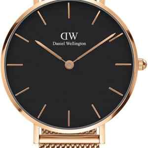 Daniel Wellington horloge Petite Melrose Black