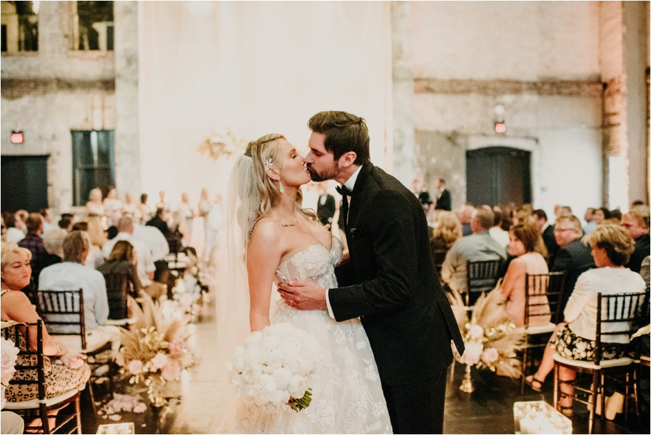 Minnesota Warehouse Wedding - Aria