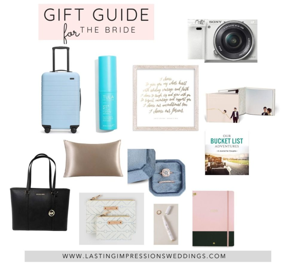 GIFT IDEAS FOR THE BRIDE