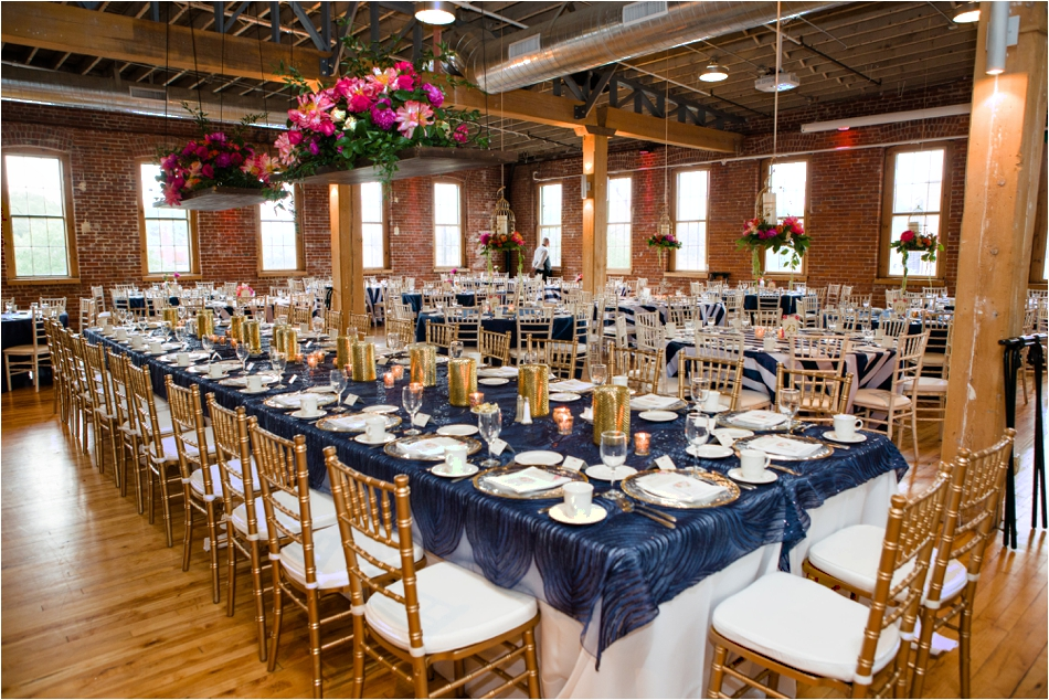 Hanging Floral Centerpieces