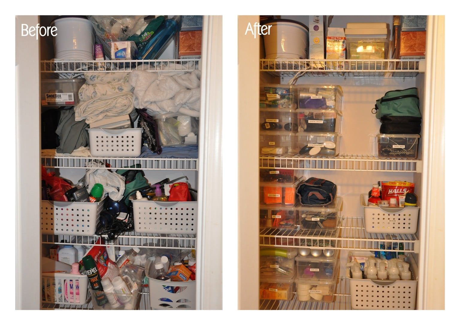How To Organize A Bathroom Closet Lasting Order